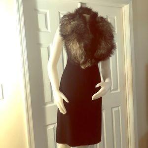 """Gorgeous Russian Fox Fur Stole Wrap 44"""""""
